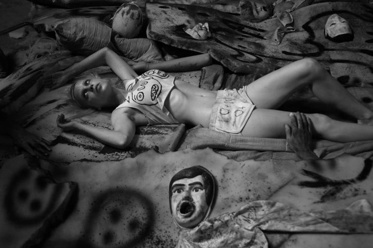 Online Exhibition - Roger Ballen: Works from 'Asylum' 'Die Antwoord' | 9 January - 5 February 2014 - Works